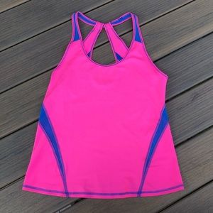 Pink GILLY HICKS Workout Tank